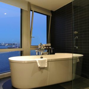 Luxury Bath with Sea View