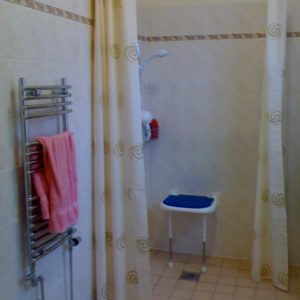 Shower Room with disabled alterations