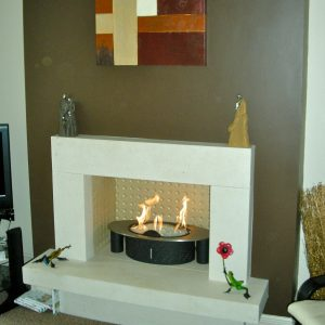 Image of a fireplace
