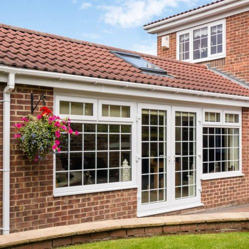 new large home extension orangerie