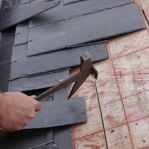 slate roof shingle