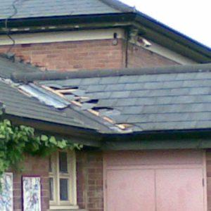 Tiled Roof in progress